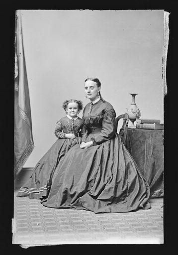 Minnie Warren and Another. Sitter: Minnie Warren, 1842 – 1878. Date: 1860s. Record ID: npg_NPG.81.M1339.