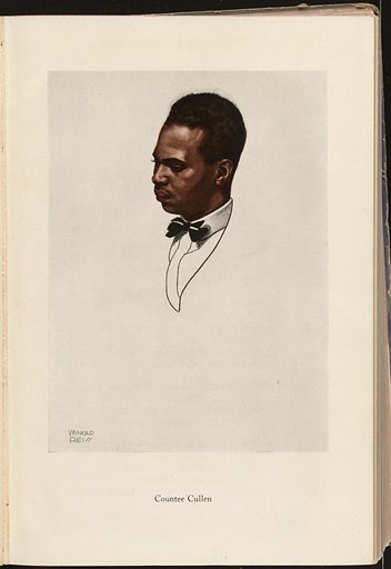 Countee Cullen. Sitter: Countee Cullen, 30 May 1903 – 1 Sep 1946. Date: 1920s. Record ID: npg_NPG.98.129.c.