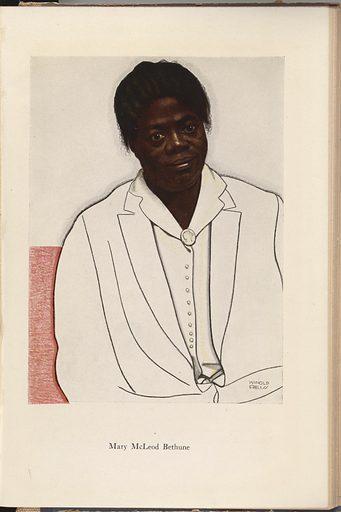 Mary McLeod Bethune. Sitter: Mary McLeod Bethune, 10 Jul 1875 – 18 May 1955. Date: 1920s. Record ID: npg_NPG.98.129.h.