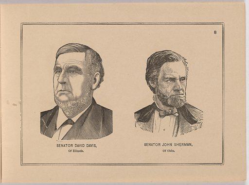 Album of Portraits of Celebrities. Sitter: David Davis, 9 Mar 1815 – 26 Jun 1886. Date: 1880s. Record ID: npg_S_NPG.90.50.o.