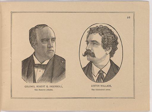 Album of Portraits of Celebrities. Sitter: Lester Wallack, 1 Jan 1820 – 6 Sep 1888. Date: 1880s. Record ID: npg_S_NPG.90.50.FF.