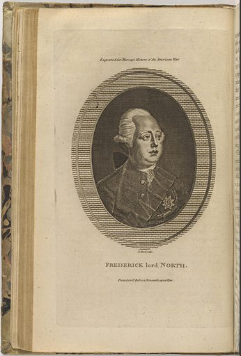 Lord Frederick North. Sitter: Lord Frederick North, 1732 – 1792. Date: 1770s. Record ID: npg_S_NPG.75.28.1.d.