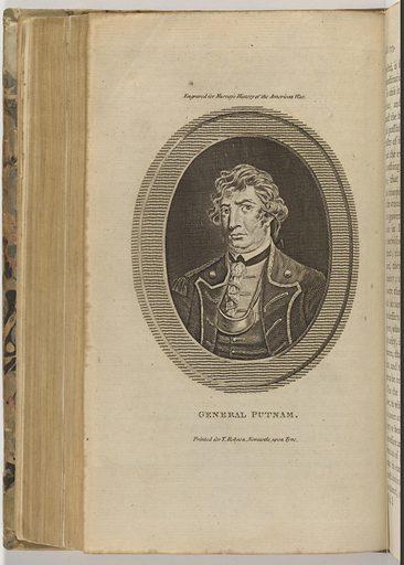 Israel Putnam. Sitter: Israel Putnam, 1718 – 1790. Date: 1770s. Record ID: npg_S_NPG.75.28.1.h.