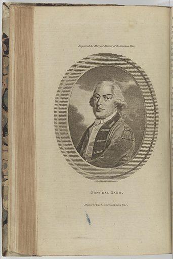 Thomas Gage. Sitter: Thomas Gage, 1721 – 1787. Date: 1770s. Record ID: npg_S_NPG.75.28.2.c.