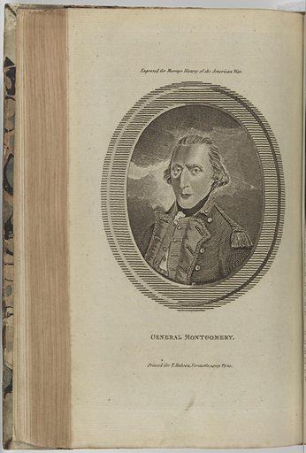 Richard Montgomery. Sitter: Richard Montgomery, 2 Dec 1738 – 31 Dec 1775. Date: 1770s. Record ID: npg_S_NPG.75.28.2.d.