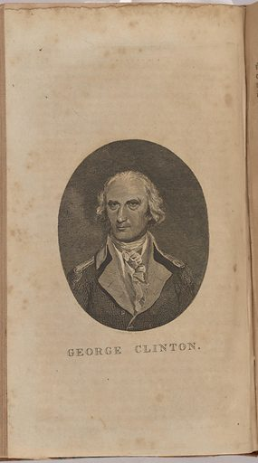 George Clinton. Sitter: George Clinton, 26 Jul 1739 – 20 Apr 1812. Date: 1800s. Record ID: npg_NPG.80.184.2.E.
