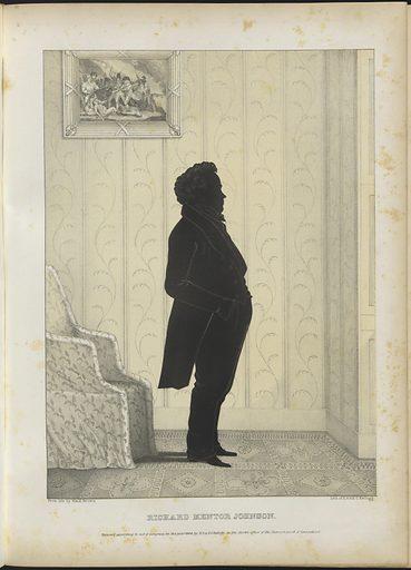 Richard Mentor Johnson. Sitter: Richard Mentor Johnson, 17 Oct 1781 – 18 Nov 1850. Date: 1840s. Record ID: npg_NPG.80.276.J.