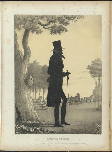 John Randolph. Sitter: John Randolph, 2 Jun 1773 – 24 May 1833. Date: 1840s. Record ID: npg_NPG.80.276.AA.