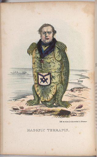 Masonic Terrapin. Sitter: Samuel Robinson. Date: 1850s. Record ID: npg_S_NPG.2001.58.22.