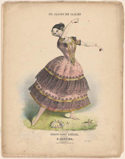 Fanny Elssler. Sitter: Fanny Elssler, 23 Jun 1810 – 27 Nov 1884. Date: 1830s. Record ID: npg_NPG.2010.94.