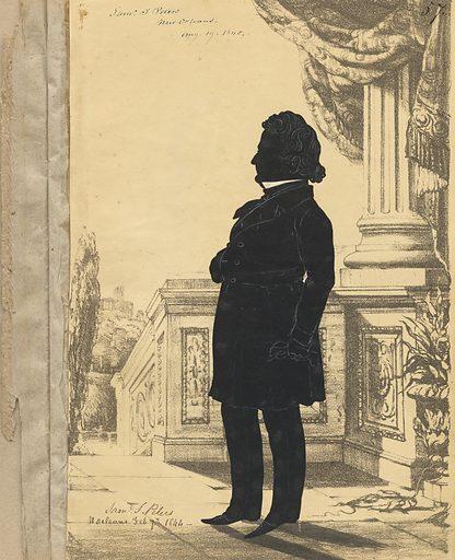 Samuel Jarvis Peters. Sitter: Samuel Jarvis Peters, 1801 – 1855. Date: 1840s. Record ID: npg_S_NPG.91.126.61.A.