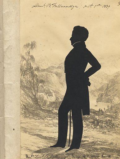 Daniel Bryant Tallmadge. Sitter: Daniel Bryant Tallmadge, 1793 – 1847. Date: 1830s. Record ID: npg_S_NPG.91.126.12.A.