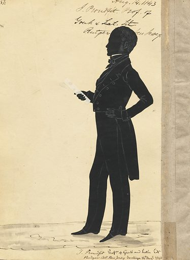John Williams Proudfit. Sitter: John Williams Proudfit, 1803 – 1870. Date: 1840s. Record ID: npg_S_NPG.91.126.41.B.