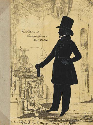 George Pope Morris. Sitter: George Pope Morris, 10 Oct 1802 – 6 Jul 1864. Date: 1840s. Record ID: npg_S_NPG.91.126.58.A.