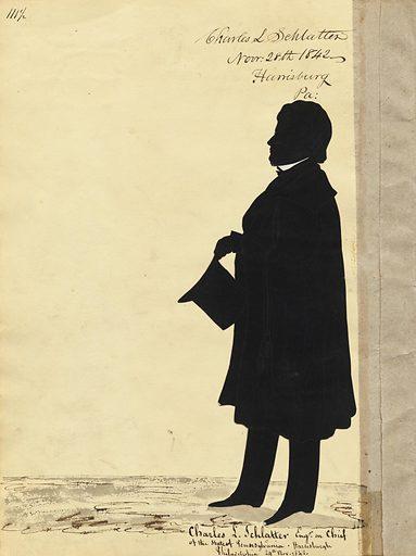 Charles L. Schlatter. Sitter: Charles L. Schlatter. Date: 1840s. Record ID: npg_S_NPG.91.126.116.B.