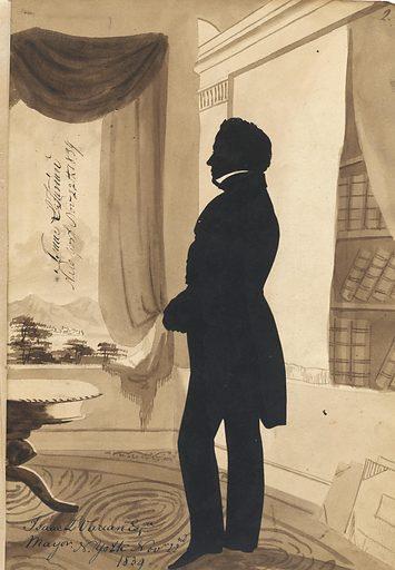 Isaac L. Varian. Sitter: Isaac L. Varian, 1793 – 1864. Date: 1830s. Record ID: npg_S_NPG.91.126.3.