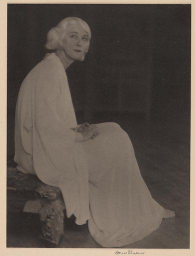 Ruth St. Denis. Sitter: Ruth St. Denis, 20 Jan 1879 – 21 Jul 1968. Date: 1920s. Record ID: npg_NPG.85.91.