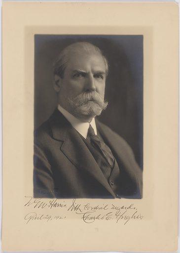 Charles Evans Hughes. Sitter: Charles Evans Hughes, 11 Apr 1862 – 27 Aug 1948. Date: 1920s. Record ID: npg_NPG.84.248.