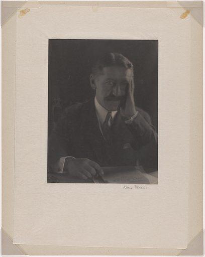 Ellery Sedgwick. Sitter: Ellery Sedgwick, 27 Feb 1872 – 21 Apr 1960. Date: 1920s. Record ID: npg_NPG.85.28.