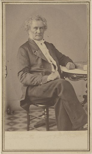 Peter Force. Sitter: Peter Force, 26 Nov 1790 – 23 Jan 1868. Date: 1860s. Record ID: npg_S_NPG.77.234.