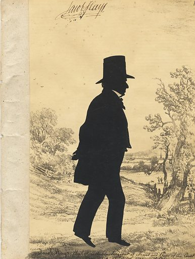 Jacob Hays. Sitter: Jacob Hays, 1772 – 1850. Date: 1830s. Record ID: npg_S_NPG.91.126.11.A.