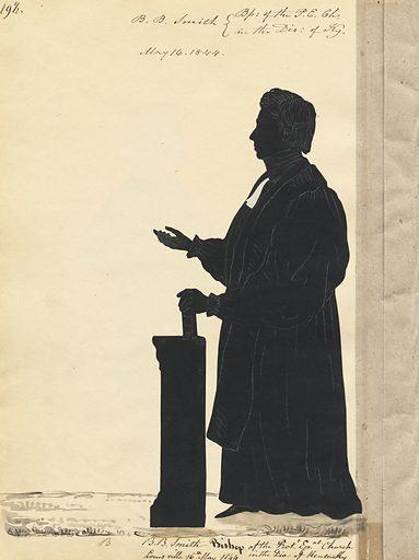 Benjamin Bosworth Smith. Sitter: Benjamin Bosworth Smith, 1794 – 1884. Date: 1840s. Record ID: npg_S_NPG.91.126.23.B.