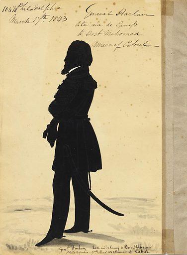 Josiah Harlan. Sitter: Josiah Harlan, 1799 – 1871. Date: 1840s. Record ID: npg_S_NPG.91.126.109.B.