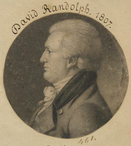 David Meade Randolph. Sitter: David Meade Randolph, 1758 – 1830. Date: 1800s. Record ID: npg_S_NPG.74.39.10.36.