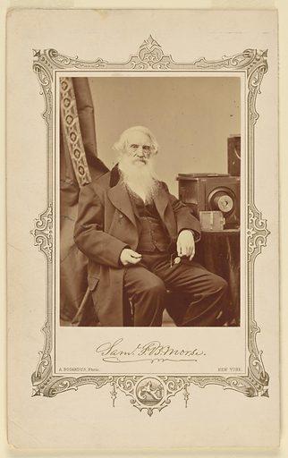 Samuel F. B. Morse. Sitter: Samuel Finley Breese Morse, 27 Apr 1791 – 2 Apr 1872. Date: 1870s. Record ID: npg_NPG.76.85.