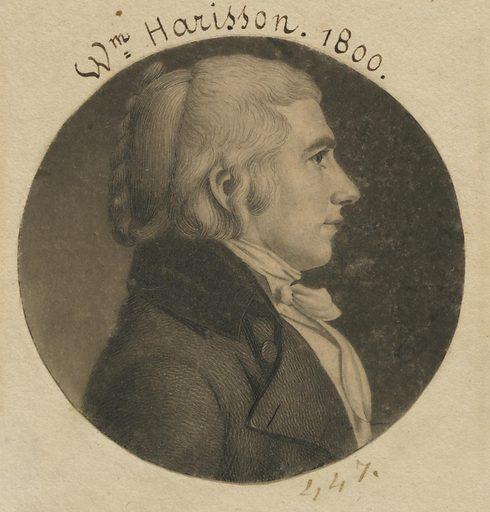 William Henry Harrison. Sitter: William Henry Harrison, 9 Feb 1773 – 4 Apr 1841. Date: 1800s. Record ID: npg_NPG.74.39.10.22.