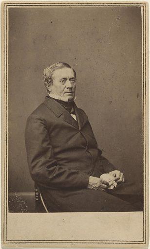 Joseph Henry. Sitter: Joseph Henry, 17 Dec 1797 – 13 May 1878. Date: 1860s. Record ID: npg_NPG.77.177.