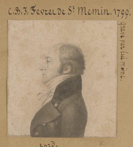 Charles de Saint-Mémin Self-Portrait. Sitter: Charles Balthazar Julien Févret de Saint-Mémin, 12 Mar 1770 – 23 Jun 1852. Date: 1790s. Record ID: npg_NPG.74.39.1.5.