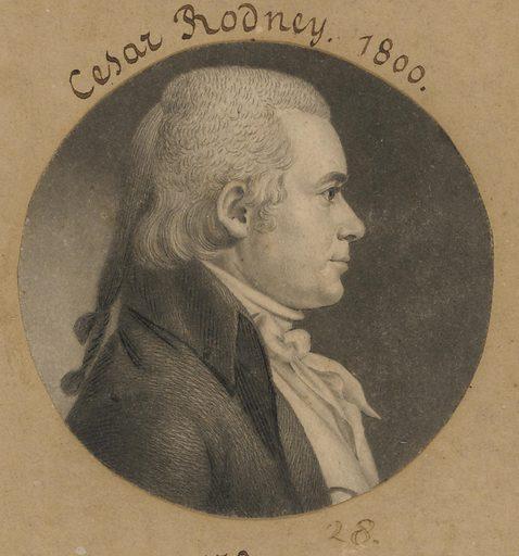 Caesar Augustus Rodney. Sitter: Caesar Augustus Rodney, 4 Jan 1772 – 10 Jun 1824. Date: 1800s. Record ID: npg_S_NPG.74.39.1.28.