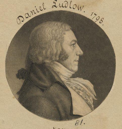 Daniel Ludlow. Sitter: Daniel Ludlow, 2 Aug 1750 – 26 Sept 1814. Date: 1790s. Record ID: npg_S_NPG.74.39.2.40.