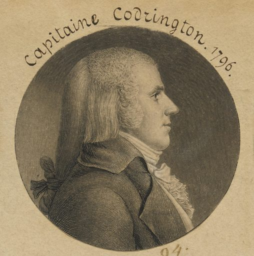 Captain Codrington. Sitter: Capt. Codrington. Date: 1790s. Record ID: npg_S_NPG.74.39.3.5.