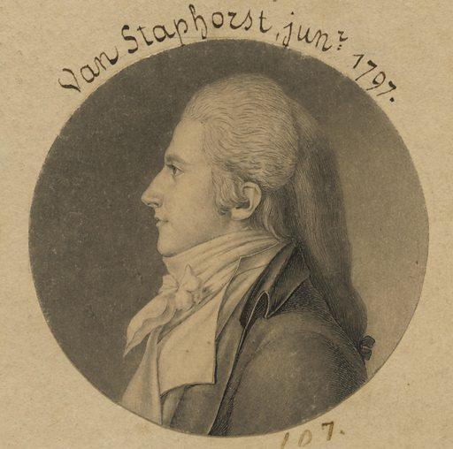 Van Staphorst, Jr. Sitter: Van Staphorst, Jr., born late 18th Century. Date: 1790s. Record ID: npg_S_NPG.74.39.3.18.