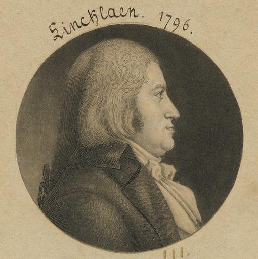 John Lincklaen. Sitter: John Lincklaen, 1768 – 1822. Date: 1790s. Record ID: npg_S_NPG.74.39.3.22.