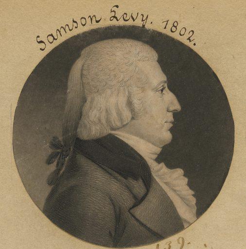 Samson Levy, Jr. Sitter: Samson Levy, Jr., 1761 – 1831. Date: 1800s. Record ID: npg_S_NPG.74.39.4.2.
