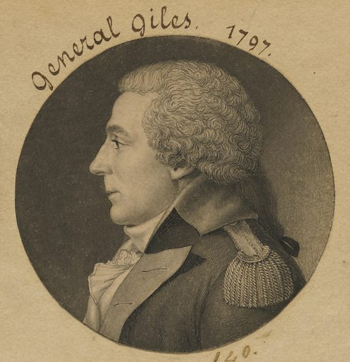 General Giles. Sitter: General Giles. Date: 1790s. Record ID: npg_S_NPG.74.39.4.3.