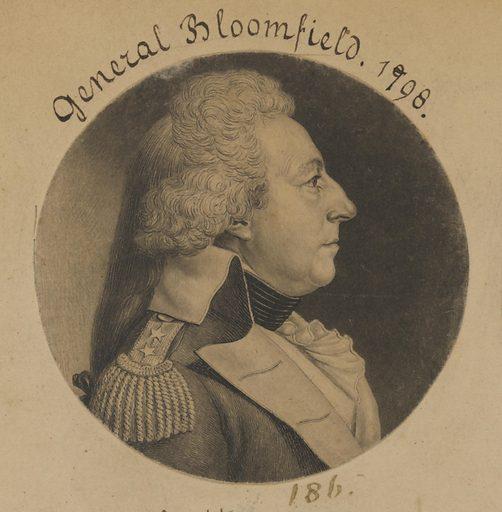 Joseph Bloomfield. Sitter: Joseph Bloomfield, 18 Oct 1753 – 3 Oct 1823. Date: 1790s. Record ID: npg_NPG.74.39.5.1.