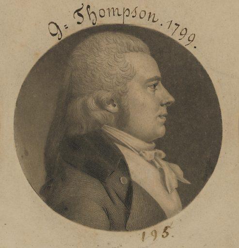 George Thompson. Sitter: George Thompson, born mid-18th Century. Date: 1790s. Record ID: npg_S_NPG.74.39.5.10.