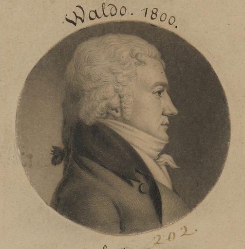 John Jones Waldo. Sitter: John Jones Waldo, 1767 – 1803. Date: 1800s. Record ID: npg_S_NPG.74.39.5.17.