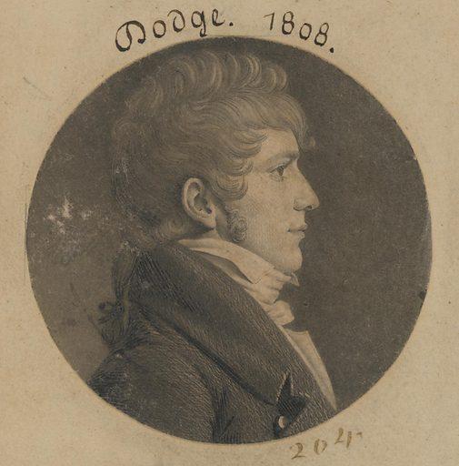 Dodge. Date: 1800s. Record ID: npg_S_NPG.74.39.5.19.