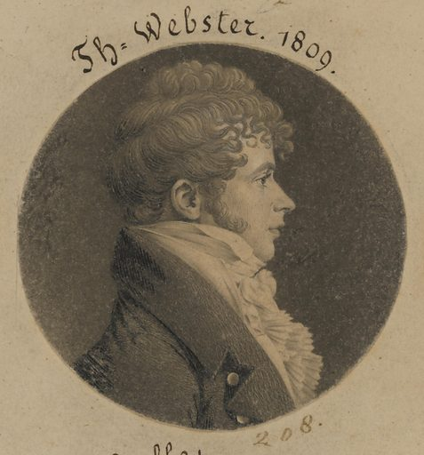 Thomas Webster. Sitter: Thomas Webster, born mid-late 18th Century. Date: 1800s. Record ID: npg_S_NPG.74.39.5.23.