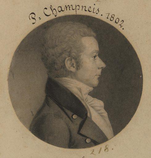Champneis. Sitter: Champneis, born late 18th Century. Date: 1800s. Record ID: npg_S_NPG.74.39.5.33.