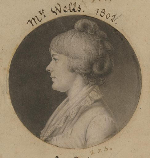 Mary Wright Sonntag Wells. Sitter: Mary Wright Sonntag Wells, ? – 1862. Date: 1800s. Record ID: npg_S_NPG.74.39.5.40.