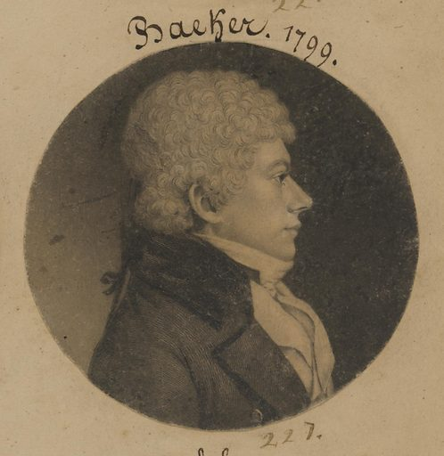 Possibly George Baer, George Adam Becker or Gould White. Date: 1790s. Record ID: npg_S_NPG.74.39.5.42.