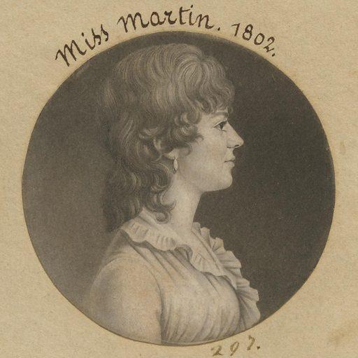 Maria or Eleanor Martin. Date: 1800s. Record ID: npg_S_NPG.74.39.7.16.