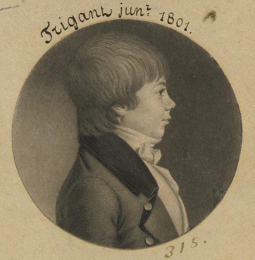 Trigant Jr. Sitter: Trigant Jr., born late 18th Century. Date: 1800s. Record ID: npg_S_NPG.74.39.7.34.