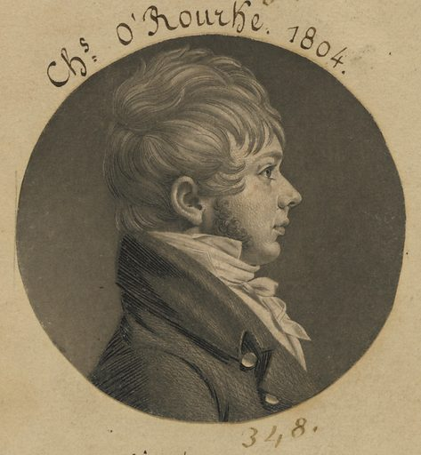 Charles O'Rourke. Sitter: Charles O'Rourke, born mid-late 18th Century. Date: 1800s. Record ID: npg_S_NPG.74.39.8.19.